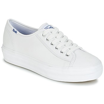 Chaussures Femme Baskets basses Keds TRIPLE KICK CORE LEATHER Blanc