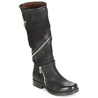 Chaussures Femme Bottes ville Airstep / A.S.98 SAINT EC ZIP Noir