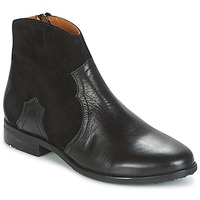 Chaussures Fille Boots Adolie ODEON WEST Noir