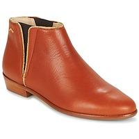 Chaussures Femme Boots M. Moustache JEANNE.B Cognac / Doré