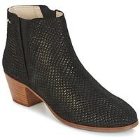 Chaussures Femme Bottines M. Moustache JEANNE.M Noir