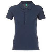 Vêtements Femme Polos manches courtes Benetton MAJOU Marine