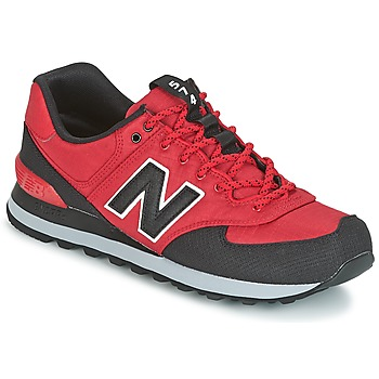 Chaussures Homme Baskets basses New Balance ML574 Rouge