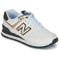 Chaussures Femme Baskets basses New Balance WL574 Blanc