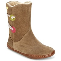 Chaussures Fille Boots Camper TWS Marron