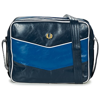 Sacs Homme Besaces Fred Perry CHEVRON SHOULDER BAG Marine