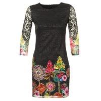 Vêtements Femme Robes courtes Desigual GRAFI Noir