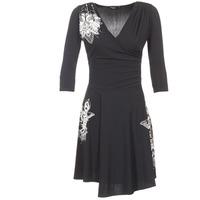 Vêtements Femme Robes courtes Desigual GRAFU Noir