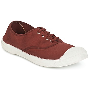 Chaussures Femme Baskets basses Bensimon TENNIS LACET Lie de vin
