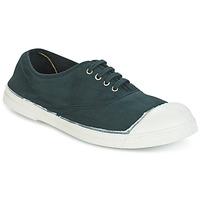 Chaussures Air max tnFemme Baskets basses Bensimon TENNIS LACET Vert foncé