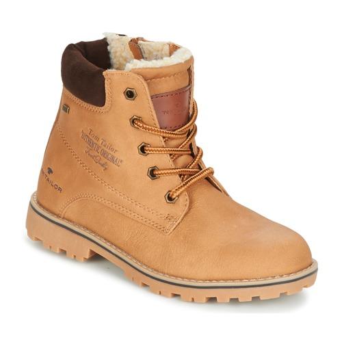 Chaussures Enfant Boots Tom Tailor JOLUI Camel