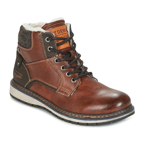 Chaussures Homme Boots Tom Tailor LORENZA Marron