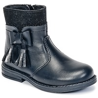 Chaussures Fille Boots Citrouille et Compagnie HEYLI Noir