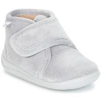 Chaussures Enfant Chaussons Citrouille et Compagnie HALI Gris