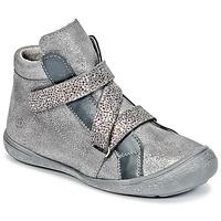 Chaussures Fille Baskets montantes Citrouille et Compagnie HISSOU Gris