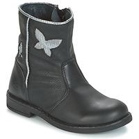 Chaussures Fille Boots Citrouille et Compagnie HORELI Noir
