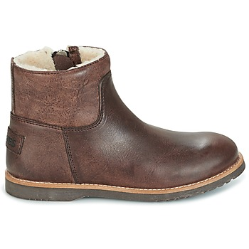 Shabbies LOW STITCHDOWN LINED Marron