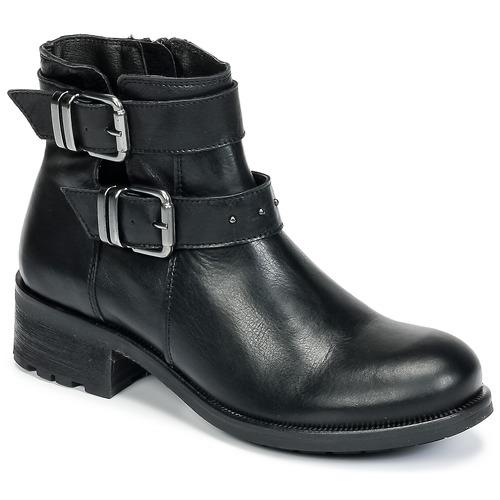 Chaussures Femme Boots Betty London HELIDI Noir