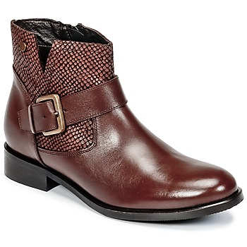 Chaussures Femme Boots Hush puppies DORAN Marron foncé