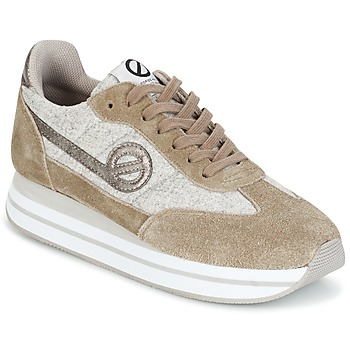 Chaussures Femme Baskets basses No Name EDEN JOGGER Dune / Gris
