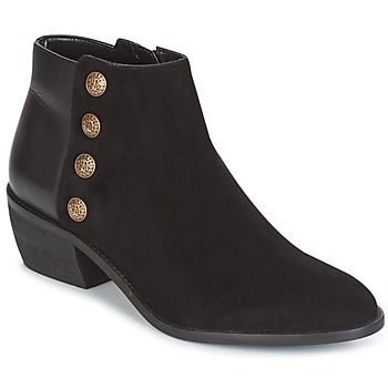 Chaussures Femme Bottines Dune London PANELLA Black