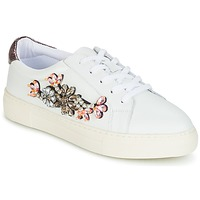 Chaussures Femme Baskets basses Dune London EMERALDA White