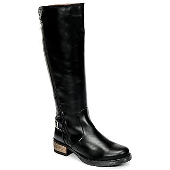 Chaussures Femme Bottes ville Casual Attitude HAPO Noir