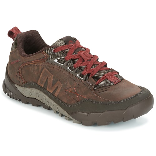 Chaussures Homme Randonnée Merrell ANNEX TRAK LOW Marron