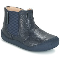 Chaussures Enfant Boots Start Rite FIRST CHELSEA Marine