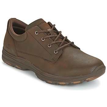 Chaussures Homme Baskets basses Skechers MENS USA Marron