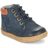 Chaussures Garçon Boots Kickers TACKLAND Marine