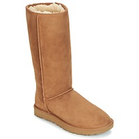 Chaussures Femme Bottes ville UGG CLASSIC TALL II Marron