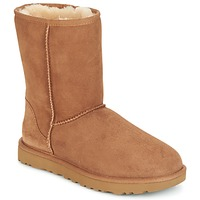 Chaussures Femme Boots UGG CLASSIC SHORT II Camel