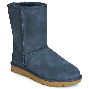 Chaussures Femme Boots UGG CLASSIC SHORT II Marine