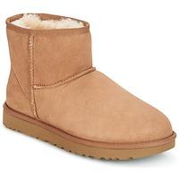 Chaussures Femme Boots UGG CLASSIC MINI II Marron