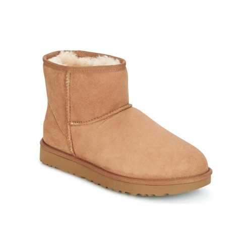 Chaussures Femme Boots UGG CLASSIC MINI II Camel