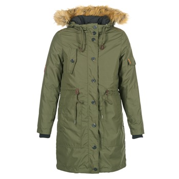 Vêtements Femme Parkas Cream ADA PARKA JACKET Kaki
