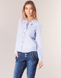 Vêtements Femme Chemises / Chemisiers Cream CAMA STRIPED SHIRT Bleu