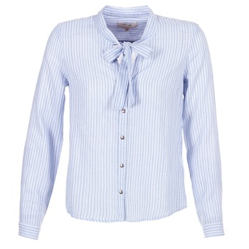 Vêtements Femme Chemises / Chemisiers Cream CAMA STRIPED SHIRT Bleu