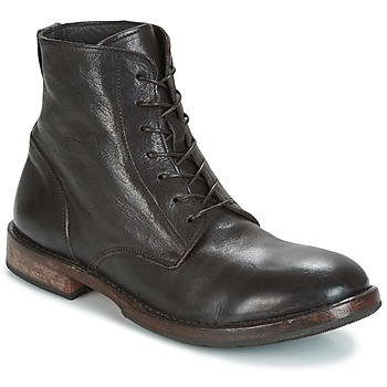 Chaussures Homme Boots Moma CUSNA T MORO Marron Foncé