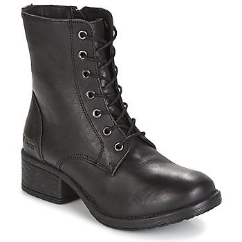 Chaussures Femme Boots Kickers REKABBY Noir