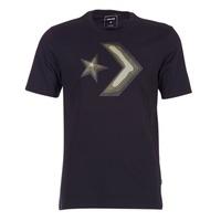 Vêtements Homme T-shirts manches courtes Converse DIMENSIONAL LAYER STAR CHEVRON TEE Noir