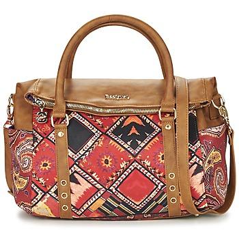 Sacs Femme Sacs porté main Desigual BOLS_LOVERTY  BOHO Camel / Multicolore