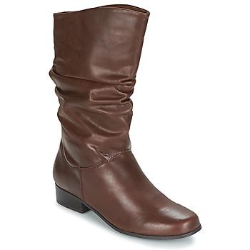 Chaussures Femme Bottes ville Spot on LAVAS Camel