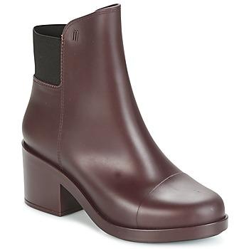 Chaussures Femme Bottines Melissa ELASTIC BOOTS Bordeaux