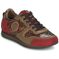 Chaussures Air max tnFemme Baskets basses Pataugas IDOL Rouge / Marron