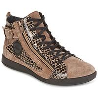 Chaussures Femme Baskets montantes Pataugas PALME Beige