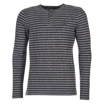 Vêtements Homme T-shirts manches longues Le Temps des Cerises ROGER Gris