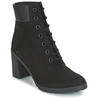 Chaussures Femme Bottines Timberland ALLINGTON 6IN LACE UP Noir