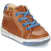 Chaussures Fille Baskets montantes Babybotte ANKARA Camel